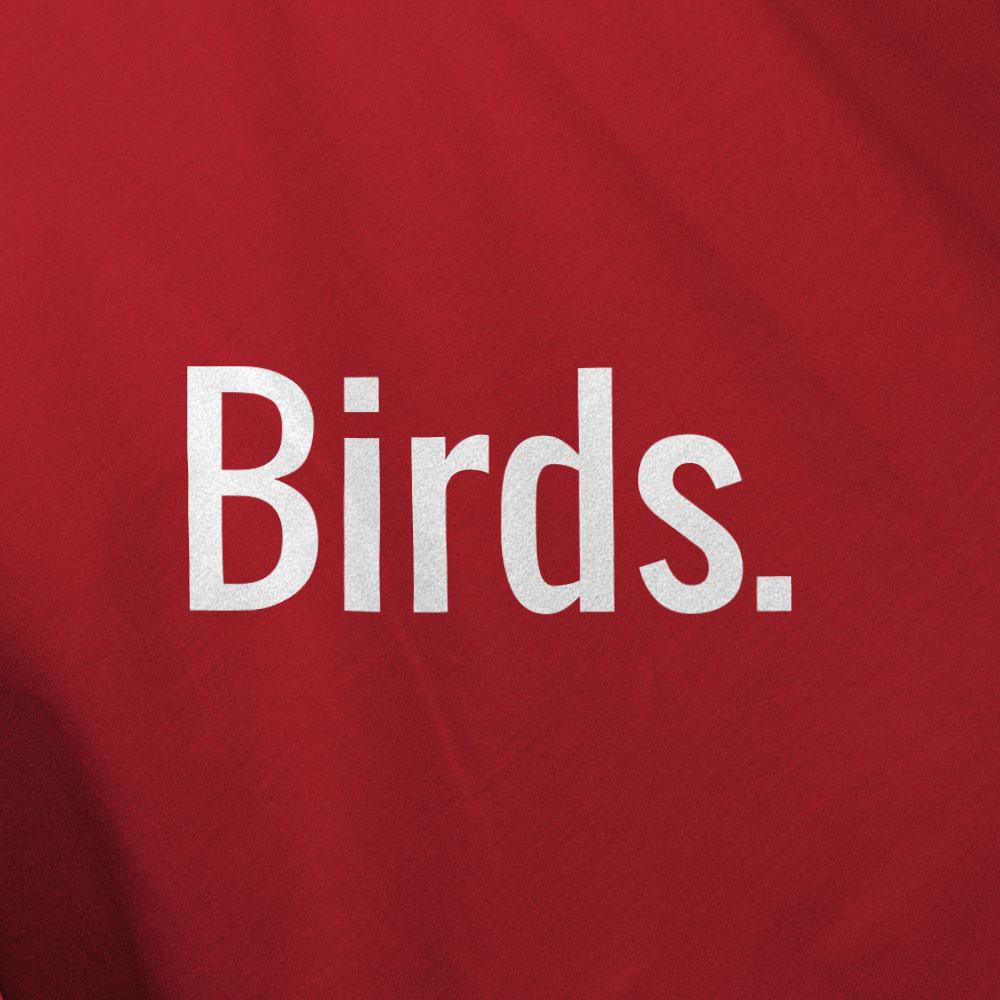Birds. Shirt Mockup