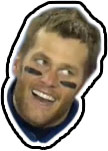 Tom Brady Stupid Face